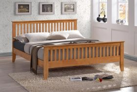 Dover Wooden Bed Oak