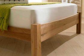 Eleanor Solid Oak Shaker Bed Foot