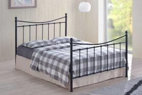 Milan Metal Bed Black