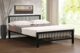 Nevada Metal Bed Black