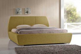 Prague Fabric Bed Green