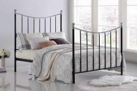 Soho Metal Bed Black