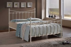 Tuscany Metal Bed Ivory