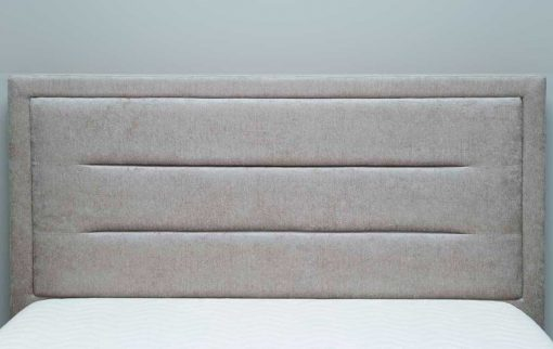 Javea Fabric Bed Stone Headboard