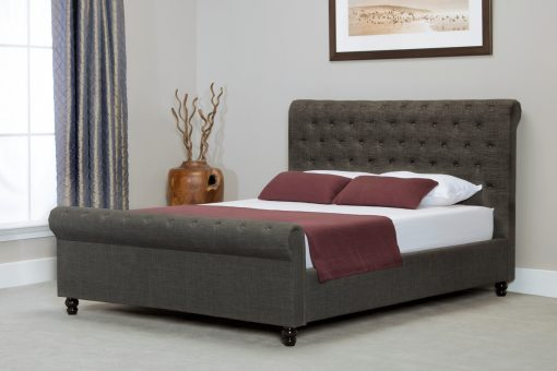 Prime Barcelona Sleigh Button Ottoman Bed Side Lifting Grey Double Pdpeps Interior Chair Design Pdpepsorg
