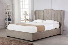 Hallaton Fabric Ottoman Bed Stone