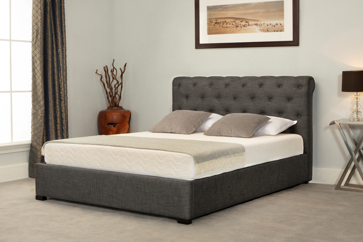 Mowbray Fabric Ottoman Bed Narborough Beds